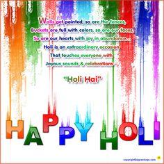Dgreetings - Holi Greeting Cards