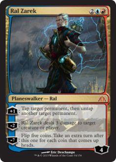 Ral-Zarek-x1-Magic-the-Gathering-1x-Dragons-Maze-mtg-card-planeswalker-edh
