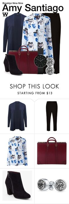 """""""Brooklyn Nine-Nine"""" by wearwhatyouwatch ❤ liked on Polyvore featuring M&Co, The Row, Theory, Gucci, BCBGeneration, Bling Jewelry, Newgate, television and wearwhatyouwatch"""