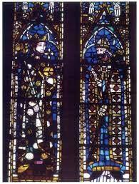 Alfonso X el Sabio, lado norte de la nave central de la catedral de la catedral de León (c.1275) -8