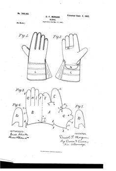 1902 D.F. Morgan Glove pattern