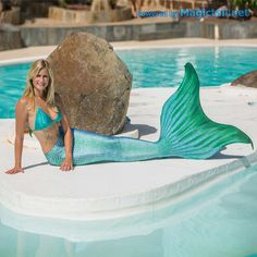 Mermaid tail pro set Deep Blue M without bikini Realistic Mermaid Tails, Fin Fun Mermaid Tails, Mermaid Swim Tail, Mermaid Pose, Mermaid Fin, Mermaid Bikini, Ariel The Little Mermaid, Mermaid Tail Costume, Dibujo