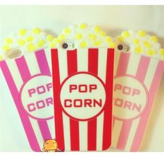 "iPhone 5/5S - ""Take Me To The Movies"" Popcorn Case in Assorted Colors"
