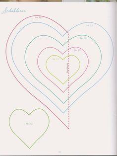 A sablonokat mentsd le a gépedre, és a gépeden lévő megfelelő program használatával, már nyomtathatod a sablonokat! :))    Szív sablonok:  ...