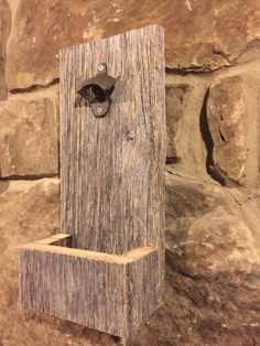 Barnwood Bottle Opener Beautiful Reclaimed by hopeloveandframes