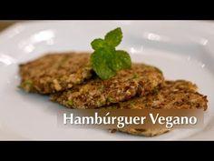 Hambúrguer Vegano - Presunto Vegetariano  Usei orégano cominho pimentas do reino e calabresa além de páprica p temperar. Na aveia, coloquei um pouquinho de tonkatsu. Dá pra fazer rocambole!!!