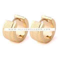 Women's Earrings Gold Color Stainless Steel Fashion Earrings For Women