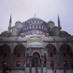 "Fave Istanbul images: 16th century ""blue mosque"""