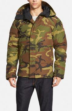 Canada Goose Men's Macmillan Slim Fit Hooded Parka   Jacket, Coat and Clothing