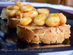 Bruschette ai fagioli - ricetta veloce