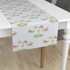 Minorca Table Runner featuring mintjulep-02 by sissi-tagg