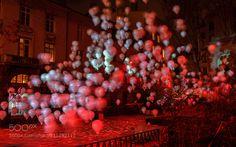 Voile de ballons by FabriceMannuel