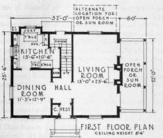 images about HOUSE PLANS on Pinterest   Center hall colonial    Old Colonial Floor Plans   What Makes Colonial   Colonial
