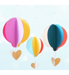 Easy Hot Air Balloon Kid's Craft. Welcome back to another Crafty Tuesday!  This week I'll ...