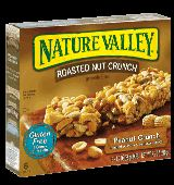 Nature Valley Roasted Nut Crunch peanut crunch variety has low #FODMAP ingredients. Yum.