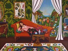 Art and song quote of the day..........., painting by artist Catherine Nolin