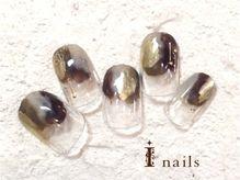 アイネイルズ 渋谷店(I nails)/トレンドグレーゴールド