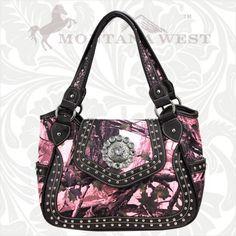 HFI-8110 Montana West Concho Camo Collection Handbag