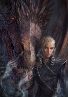Cant believe it's the finale of #gameofthrones already. I just managed to finish my mother of dragons piece in time! Seriously going to miss the series when it finished entirely. At least...