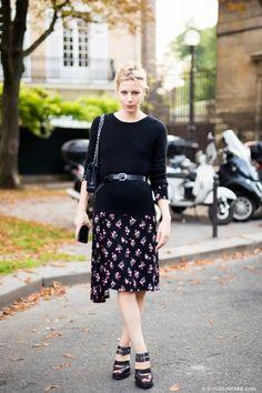 STYLE DU MONDE / Paris FW SS2014: Julia von Boehm  // #Fashion, #FashionBlog, #FashionBlogger, #Ootd, #OutfitOfTheDay, #StreetStyle, #Style