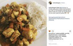 Chicken Satay Curry - Pinch Of Nom Slimming Recipes Chicken Satay Curry, Lorraine Recipes, Easy Slimming World Recipes, Meal Planner, Curry Recipes, Food Print, Food Processor Recipes, Nom Nom