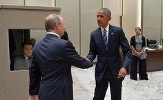 Obama y Putin urgen a continuar las negociaciones en el G-20 sobre un alto el fuego en Siria