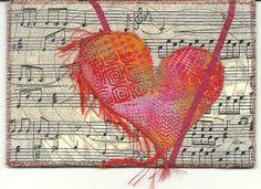 Postcard Valentine blushing Heart | Flickr - Photo Sharing!