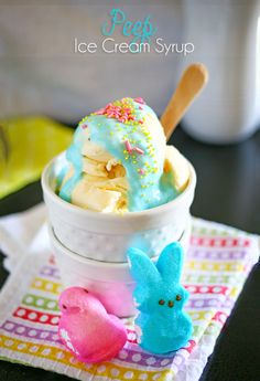 Peep Ice Cream Syrup