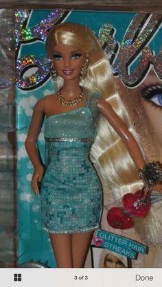 Barbie Loves Glitter Hair Doll #Barbie