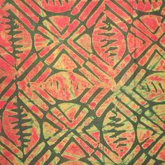 Batik tanzanien de coton  1/2 verges de par kallistiquilts sur Etsy