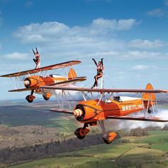Love the Breitling Wing Walkers  #Breitling #WingWalkers #BreitlingWingWalkers