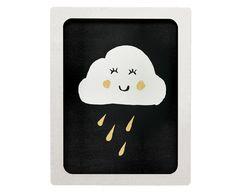 Quadro Nuvem - 40X50cm | Westwing - Casa & Decoração