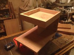 Bed side table ready for stain