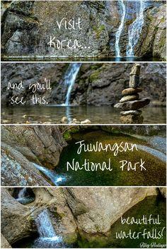 Visit Korea and you'll see this.  Juwangsan National Park, Korea.  Click and read more at my travel blog!