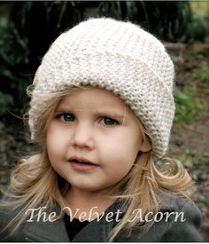 Knitting PATTERN-The Piper Cloche' Toddler Child by Thevelvetacorn
