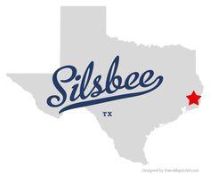 Map of Silsbee Texas TX