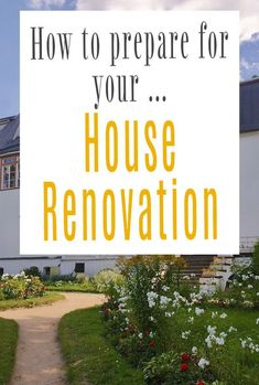 Renovating your home takes a lot of preparation. Before you contact your contractors and let plumbers, carpenters, and builders inside your house, make sure you go through this list so you have your renovation well prepared for #homerenovation #renovating #renovation #homeimprovement Beautiful Space, Beautiful Homes, Amazing Transformations, Self Storage, Home Hacks, Simple House, Easy Projects, Home Renovation