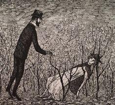 Edward gorey, illustration и don john. Illustrations, Illustration Art, Don John, John Kenn, Arte Van Gogh, Ink Pen Drawings, Macabre, Dark Art, Creepy