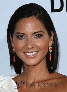 Lastest Trend Short Black Full Lace Remy Hair Wigs for Black Women Short Human Hair Wigs, Remy Hair Wigs, Olivia Munn, Love Hair, Great Hair, Celebrity Hairstyles, Cool Hairstyles, Libra, Short Straight Bob
