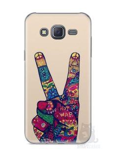 Capa Samsung J5 Paz e Amor - SmartCases - Acessórios para celulares e tablets :)