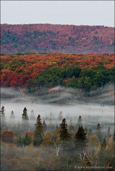 Foggy Valley (near Grand Marais, MN)