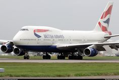 B747-400 Fleet - G-BNLY British Airways Boeing 747-436