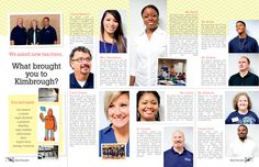 Kimbrough Middle School / People / Faculty Feature spread