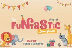 Coupon Code for  20% OFF The Funtastic June Bundle - http://blog.starsunflowerstudio.com/2017/06/coupon-code-for-20-off-the-funtastic-june-bundle.html