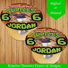 Items similar to Teenage Mutant Ninja Turtle Applesauce Jello Labels - Custom Labels - Ninja Turtles Birthday - Digital - Stickers - Printed-TMNT on Etsy Brochure Paper, Edit Your Photos, Label Paper, Teenage Mutant Ninja, Custom Labels, Jello, Ninja Turtles, Tmnt, Your Design