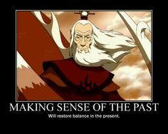 Making sense of the past...