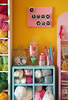 Twinkie Chan's Craft Room.  Twinkie Chan is a delight!