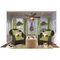 Cottage Style Porch Decor