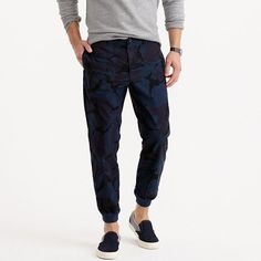 J.Crew - Jogger pant in camo cotton