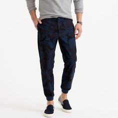 J.Crew - Jogger pant in camo cotton